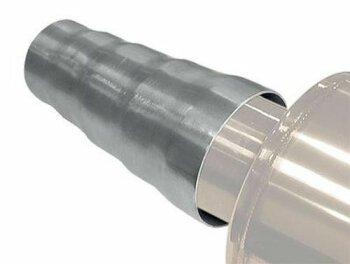 Universal Auspuff Adapter Edelstahl Ø50mm-70mm