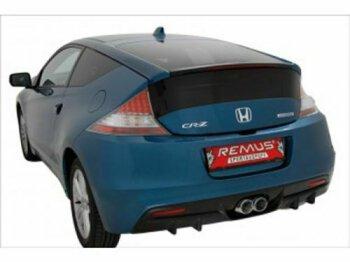 Honda CR-Z Typ ZF1 Remus Cat Back mittig mit 2 Endrohren...
