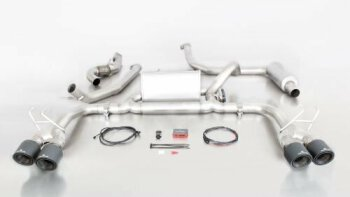 Honda Civic Type R FK2 Remus Anlage Carbon Endrohre ohne...