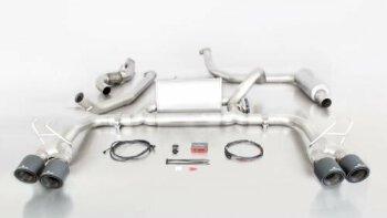 Honda Civic Type R FK2 Remus Anlage Carbon Endrohre mit...