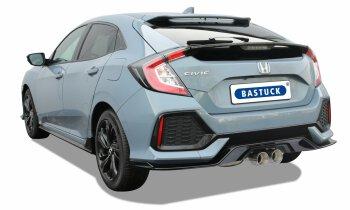 Honda Civic FK7 1,5L Turbo Bastuck Anlage 2x100 mm Double...