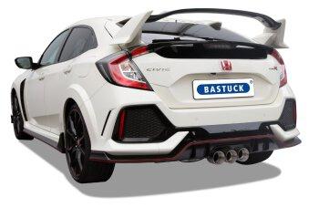 Honda Civic FK8 2,0L Type R Bastuck Anlage 3x100 mm...