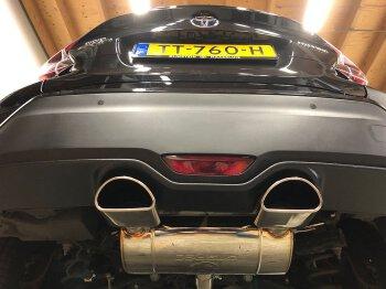 GTSPEC CATBACK Exhaust Toyota C-HR 1.2L Turbo, 1.8L...