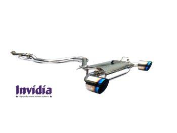 Invidia Q300 Hyundai I30N Hatchback ohne OPF Titan/blau...