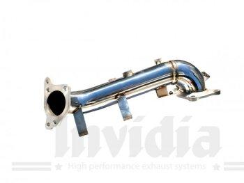 Invidia 70mm Downpipe ohne Kat. Honda Civic FK7 1.5L 17-